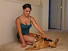 Dressing Room Dog Sex